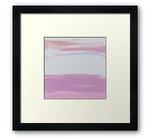 Brush Touch  Framed Print