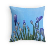 Looking up. Throw Pillow
