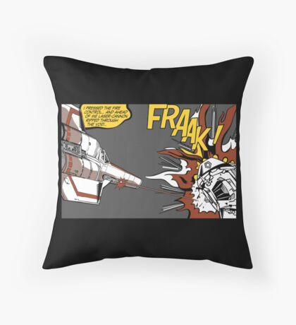 FRAAK! Throw Pillow