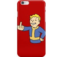 Vault F*uck  iPhone Case/Skin