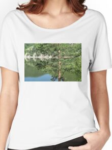 Summer in the Mountains - Forest Lakes and Pine Trees Beauty Women's Relaxed Fit T-Shirt