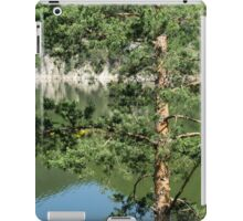 Summer in the Mountains - Forest Lakes and Pine Trees Beauty iPad Case/Skin