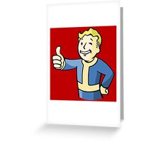 Vault Boy Greeting Card
