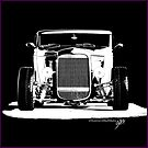 1932 Ford Roadster (B&W) by blulime