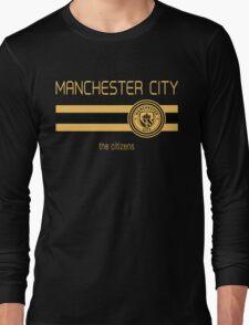 EPL 2016 - Football - Manchester City (Away Black) Long Sleeve T-Shirt
