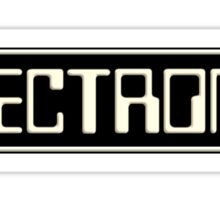 Electronica music Sticker