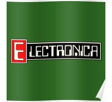 Electronica music Poster