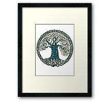 TREE OF LIFE - tree of death Framed Print
