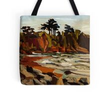 A Tramp Along the English Riviera. Tote Bag