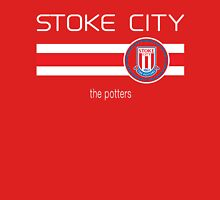 EPL 2016 - Football - Stoke City (Home Red) Unisex T-Shirt
