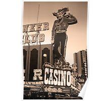 Las Vegas Downtown Poster