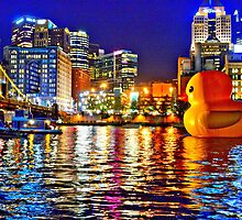 Rubber Duck Project Pittsburgh by HotSaus Design