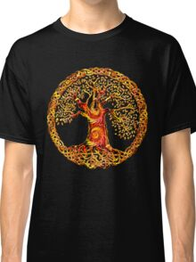 TREE OF LIFE - orange crush Classic T-Shirt