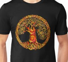 TREE OF LIFE - orange crush Unisex T-Shirt