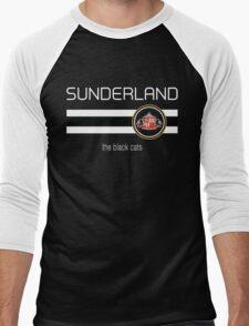 EPL 2016 - Football - Sunderland (Away Black) Men's Baseball ¾ T-Shirt