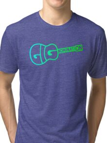 Gignomination, gigs, music Tri-blend T-Shirt