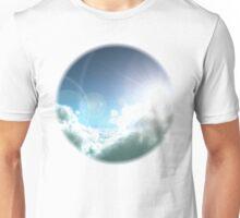 Cloudy Sun Unisex T-Shirt