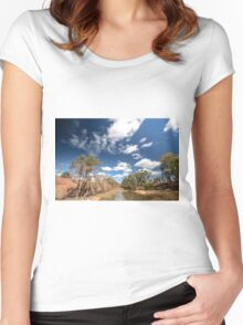 On the Bridge Women's Fitted Scoop T-Shirt