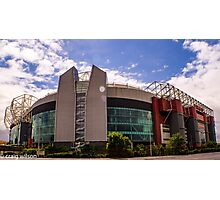 Theatre of dreams - old trafford Photographic Print