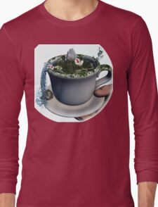 Piece of Nature Cup Long Sleeve T-Shirt