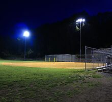 Night Baseball by Frank Romeo