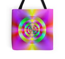 Psychedelic Rings Tote Bag