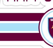 EPL 2016 - Football - West Ham United (Away White) Sticker