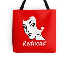 Miss Redhead (text) [iPhone / iPad / iPod case | Tshirt | Print] Tote Bag
