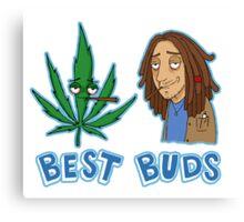 Best Buds Stoner Edition Canvas Print