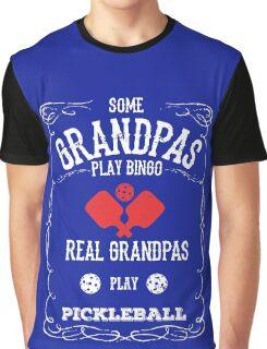 Pickleball Grandpa Graphic T-Shirt