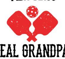 Pickleball Grandpa Sticker