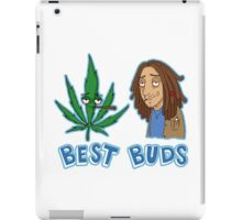 Best Buds Stoner Edition iPad Case/Skin