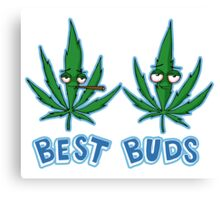 Best Buds Shading Canvas Print