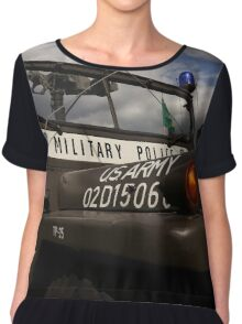 us army, military police Chiffon Top