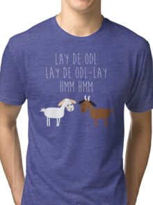 Sound of music goat herd Tri-blend T-Shirt