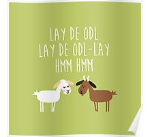 Sound of music goat herd Poster