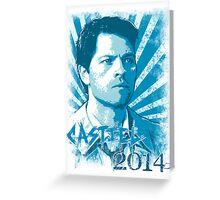 Castiel 2014 - Redeemer of Heaven Greeting Card