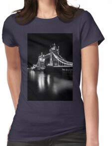 Tower Bridge Womens Fitted T-Shirt