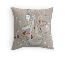 The Jellylady Throw Pillow