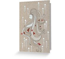The Jellylady Greeting Card