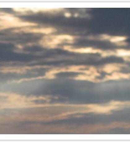 Cloudy Skies Sticker