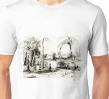 Artists at Work by the Johnstone River, Innisfail FNQ Unisex T-Shirt
