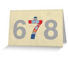 Prime Number Greeting Card