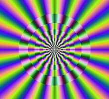 Psychedelic Circular Deviation by Objowl