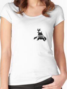 Don't Make Heracross Cross Women's Fitted Scoop T-Shirt