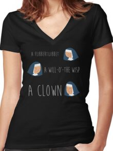 Sound of music nuns Women's Fitted V-Neck T-Shirt