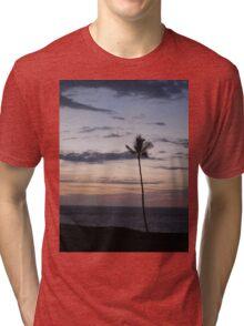 Purple Sunset Tri-blend T-Shirt