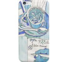 cerulean cafe iPhone Case/Skin