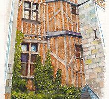 Chez Gérard, Tours, Loire Valley, France by Dai Wynn