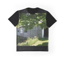 South Denmark Road Covered Bridge Graphic T-Shirt